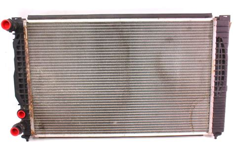 audi radiator radiator audi a4 vw passat b5 1 8t manual genuine 8d0