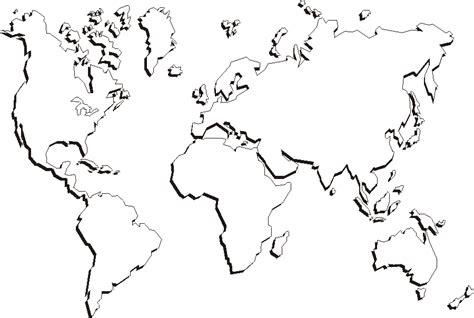 printable world maps outline world map