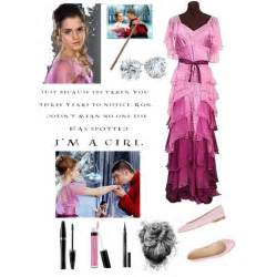 hermione granger yule polyvore