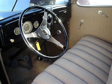 seats upholstery 1936 ford 2 door coupe with rumble seat 64023