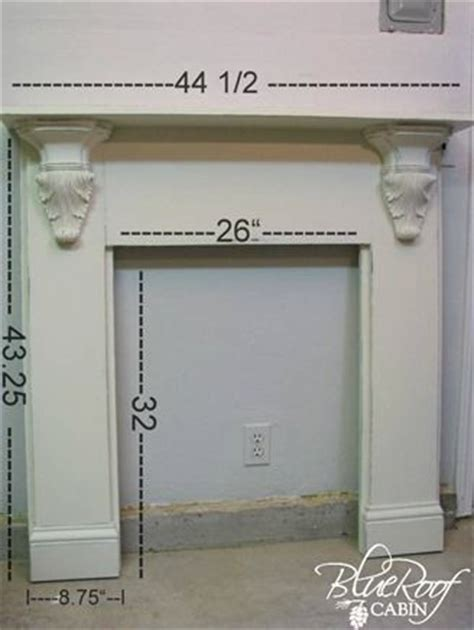 Fireplace Mantel Proportions by Best 25 Faux Fireplace Mantels Ideas On