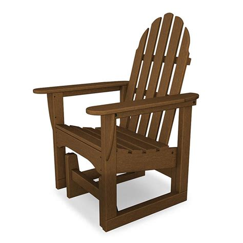 Glider Chair Outdoor by Outdoor Adirondack Glider Chairs Polywood Adirondack