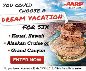 Aarp Travel Sweepstakes - aarp family fun travel sweepstakes