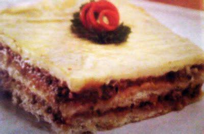 Cara Membuat Lasagna Roti Tawar | resep cara membuat lasagna roti tawar indonesia info