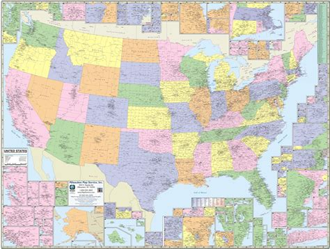 county map united states themapstore united states business mapcountytownunited