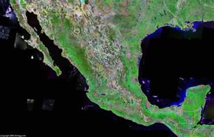 satellite map mexico map and satellite image