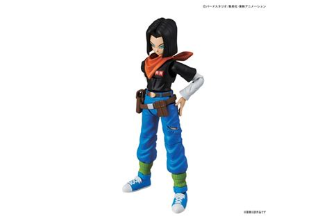 Bandai Figure Rise Standard Android 17 figure rise standard android 17 model kit