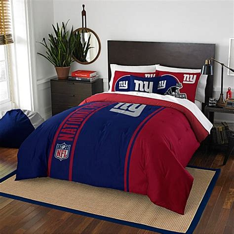 ny giants bedding nfl new york giants bedding www bedbathandbeyond com