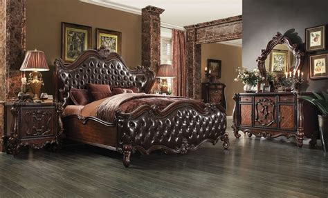 versailles bedroom set von furniture versailles bedroom set in cherry