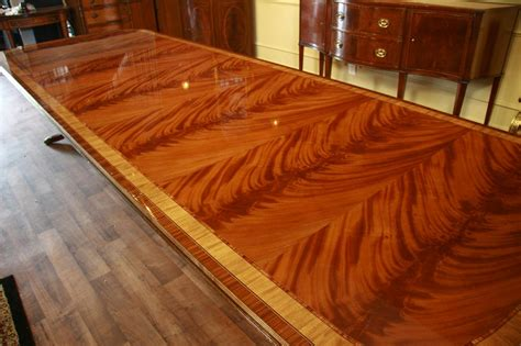 dining room tables that seat 14 large high end mahogany reproduction dining room table seats 12 14 ebay