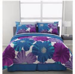 modern floral bedding set 2 face comforter multi color