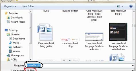 cara membuat virus penghapus data cara jahil menggunakan notepad bloggercungkring blogspot com