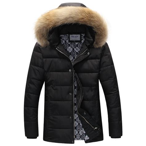 mens puffer jacket with fur reviews shopping