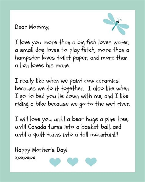 S Day Letter Format by 17 Best Images About S Day On C