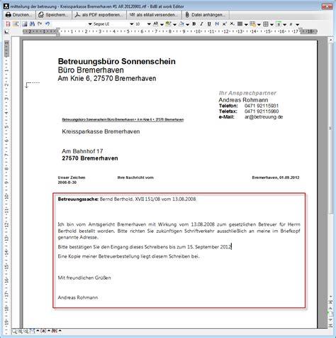 briefkopf vorlage anrede dokumentvorlagen betreuung de