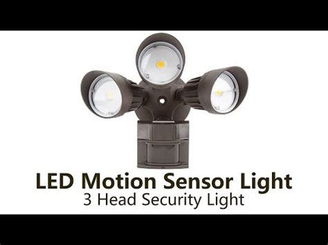 how to install security light review install outdoor defiant led motion security light