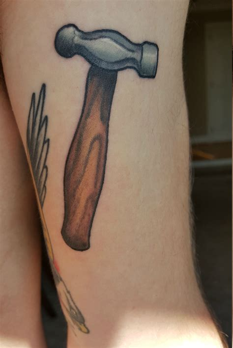 ball peen hammer done by nick the tailor art machine