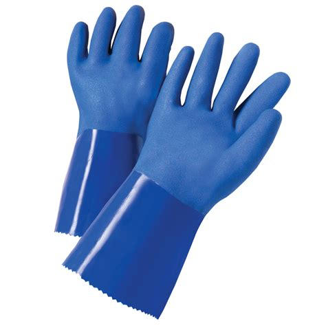 Shop blue hawk large men s rubber chemical gloves at lowes com