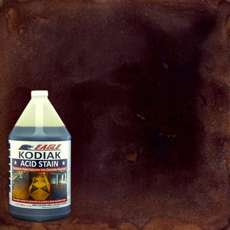 eagle 1 gal kodiak concrete acid stain edadk the home depot