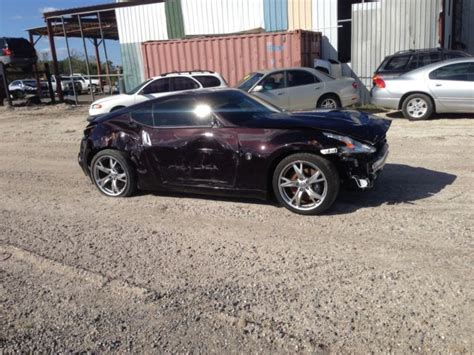 rebuildable cars for sale 2012 nissan 370z rebuildable repairable for sale