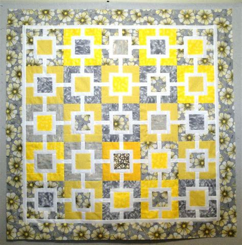 grey pattern quilt pretty pattern yellow and grey mix pinterest