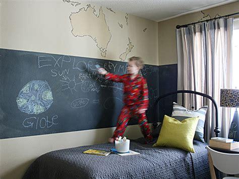cool chalkboard kids room decorations