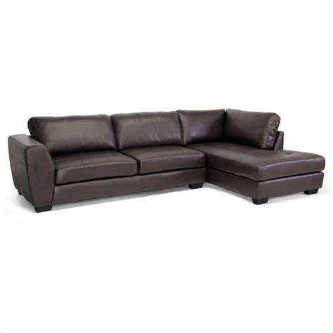 orland right facing sectional sofa in brown ebay