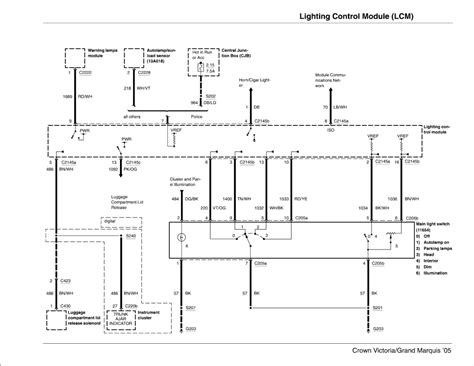 1999 lincoln town car lighting control module repair guides lighting systems 2005 lighting