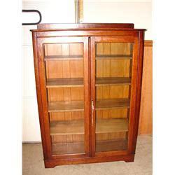 oak larkin bookcase