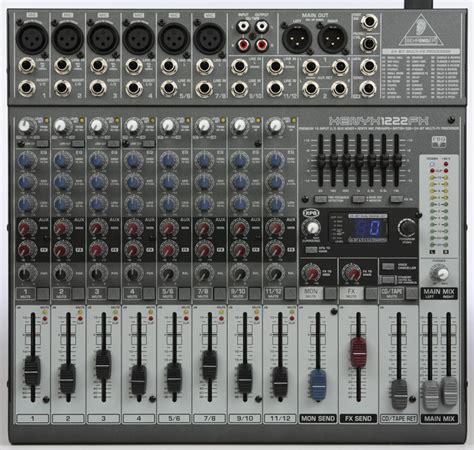 Mixer Xenyx 1222fx behringer xenyx 2442fx