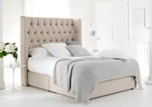 bed with headboard luxury upholstered beds new range time4sleep blog