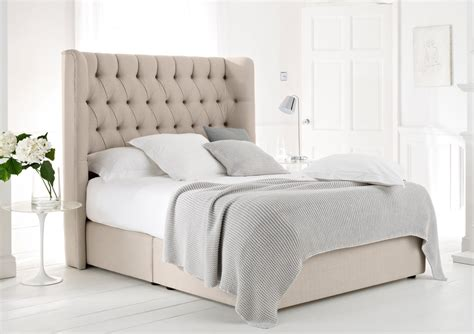 Upholstery Fabric Beds by Luxury Upholstered Beds New Range Time4sleep
