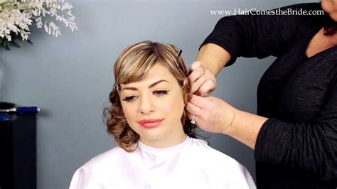 Wedding Hair And Makeup Tutorial by 1930s Inspired Bridal Hair And Makeup Tutorial
