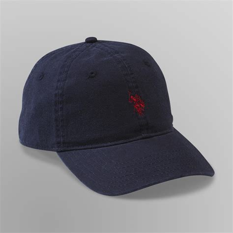 Hkj Topi Basebal Marun Polos Baseball Cap Maroon Hat Import Ius us polo assn mens baseball cap logo