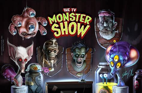 show monster the tv monster show by axigan on deviantart
