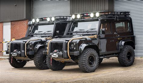 land rover spectre land rover defender spectre edition by tweaked automotive