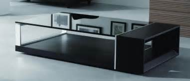contemporary coffee tables contemporary coffee table with black glass top el monte