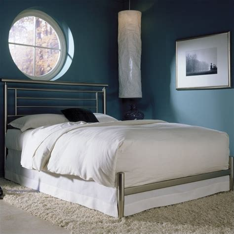 modern metal bed fashion bed chatham contemporary metal bed b4183x