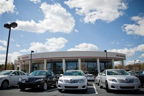 Toyota Dealer Raleigh Fred Toyota Car Dealership In Raleigh Nc 27617