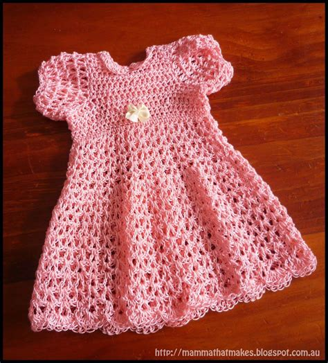 pattern newborn dress 16 patterns for cute crochet girls dresses free pattern