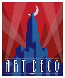 Art Deco art deco poster by ollywood