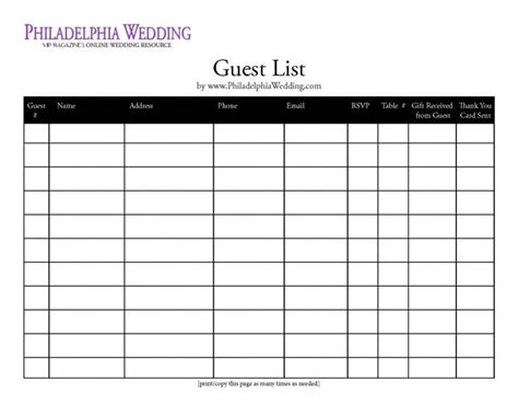 sle guest list vip guest list template 28 images bad jokes and oven