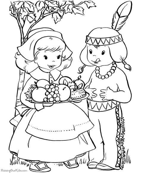 pilgrim coloring pages for kindergarten happy thanksgiving coloring pages coloring kids
