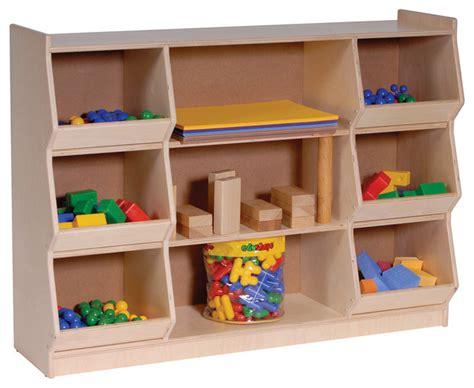 Toys Shelf by Steffywood Home School Classroom Play Block