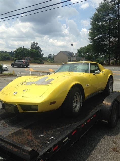 Sell Used 1975 Chevy Corvette Sport Coupe L82 4 Speed In Coldwater Ohio United States 1975 Chevrolet L82 Corvette Stingray For Sale In Winder Car