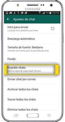 tutorial whatsapp samsung galaxy tutorial copia y restauraci 243 n de whatsapp a trav 233 s de la