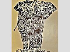 Tribal/henna elephants   tattoos   Pinterest   Marketing ... Indian Elephant Henna Drawing