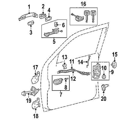 toyota tacoma parts diagram parts 174 toyota tacoma oem parts diagram