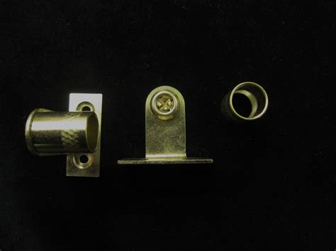 curtain rod sockets brackets for 16mm diameter net rods