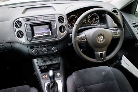 volkswagen 2015 interior volkswagen tiguan 2015 interior stock editorial photo